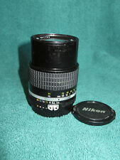 Nikon Nikkor Ai-S 135mm f/3.5 AiS Lens MF Good User!