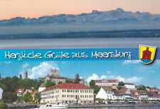 Views of Meersburg Switzerland Postcard used VGC