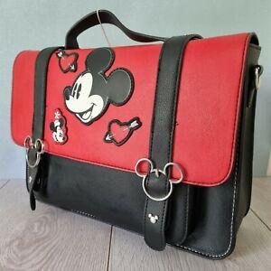 Ladies Disney Classic Mickey Minnie Mouse Satchel Crossbod Bag Primark NEW