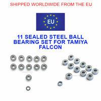 TAMIYA FALCON BALL BEARING KIT 11 STEEL SEALED BEARINGS