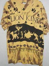 90's Disney's The Lion King Colorful Tie Dye T Shirt OSFA XL / XXL