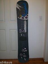 "1994 Faktory Jason Brown 154cm ""Alice In Wonderland"" Snowboard - 1 Of 2 Made-"
