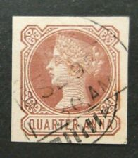 India-Quarter Anna Victoria Stationary Cut Out