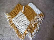 Vintage Hand Crocheted Ladies Shawl or Wrap
