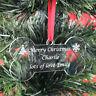DOG | Christmas Gift Present Personalised Dog Bone Shape Tree Decoration Bauble