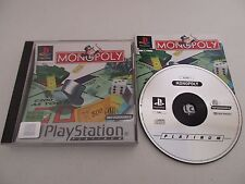 MONOPOLY - SONY PLAYSTATION - JEU PS1 PSX PLATINUM PAL FR COMPLET