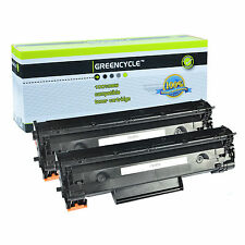 2PK CE285A 85A Toner Cartridge For HP 85A Laserjet Pro M1213 nf P1136 Printer