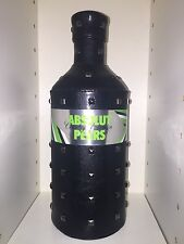 Absolut Vodka PEARS Rock Edition Skin 700ml Uncut Banderole Empty No Alcohol