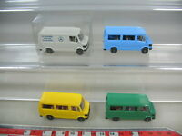 K920-0,5# 4x Wiking HO Mercedes-Benz MB-207 D Kombi, Transporter, 280-282, TOP