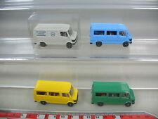 K920-0,5# 4x Wiking HO Mercedes-Benz MB-207 D Kombi, Transporter, 280-282, TOP