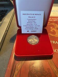 Monaco Monnaie de Paris Coffret Officiel 2€ Euros 2011 Mariage