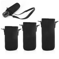 Outdoor Water Bottle Carrier Cover Holder Shoulder Strap Belt Travel Drink Bag J