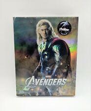 Avengers (NOVAMEDIA) Exclusive (Thor) Full Slip Steelbook (Ltd Ed) ***VHTF***