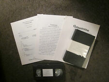 """THREESOME"" 1994 LARA FLYNN BOYLE-32 PG.+19 MIN.VHS ELECTRONIC PRESS KIT&NOTES"