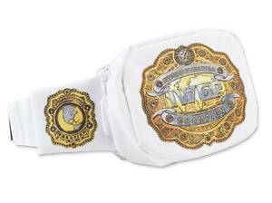 Official NJPW New Japan Pro Wrestling IWGP Intercontinental Championship Belt Wa