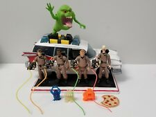 Vintage Real Ghostbusters Figures and Ecto-1 custom lot, ooak Light up Ecto one