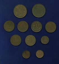 NETHERLANDS COINS: 1/2 CENT 1877, 1891, 1912, 1 CENT 1878, 1881, 1901, 1922,...
