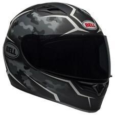 Bell Qualifier Stealth Camo Motorcycle Helmet - Matte Black/White