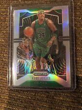 2019-20 NBA Panini Prizm Paul Pierce Silver Prizm Refractor Boston Celtics