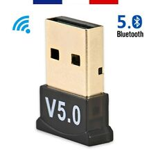 Mini Clé USB Adaptateur Transmetteur Bluetooth 5.0 Dongle Pour Windows