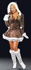 "Dreamgirl Sexy ""Eskimo Cutie"" Snow Bunny Costume Adult Small"