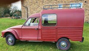 Citroen 2CV Acadiane Dyane Classic Van