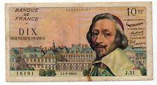10F Richelieu 1966 - Pas de prix de réserve