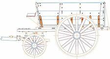 1906 Dumping Wagon - 1:24, G Scale Model Plan-Set Drawings