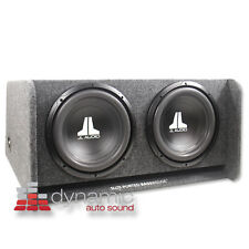 """JL AUDIO CP212-W0V3  (2) 12W0v3 12"""" Subwoofers Loaded in Ported Basswedge Box"""