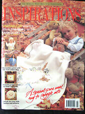 ~INSPIRATIONS Embroidery Smocking Magazine Issue # 15 1997 - VGC~