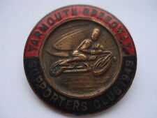 1948 YARMOUTH SPEEDWAY SUPPORTERS CLUB ENAMEL PIN BADGE