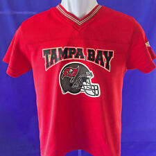TAMPA BAY BUCCANEERS BOYS  SHIRT/JERSEY , SZ MED/8-10 EXCELLENT CONDITION