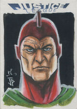 DC Comics Justice League Sketch Card by Jack Hai and Jason Potratz of Starman