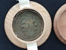 1770 Royal French Wax Seal Box Royalty Nobility Document King Louis XVI France