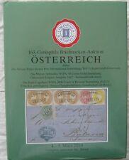 163 Corinphila Briefmarken-Auktion Osterreich 2010