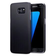 Genuine High Impact Rubberised Case Micro Thin Bumper Black for Galaxy S7 EDGE