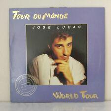 "José Lucas –Tour du Monde - Vinyl, 12"", 45 RPM, Maxi-Single - 1987 - Euro-Disco"