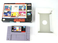 SNES Family Dog Super Nintendo Video Game Cartridge w/ Box & Insert
