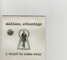 Melissa Etheridge-I want to come over US promo cd single
