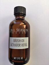 All Season Nails BRUSH-ON RESIN ACTIVATOR 2 oz  Made in USA