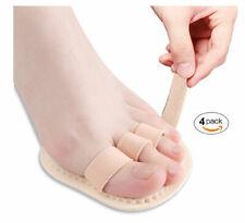 4 Pack Bunion Splint Hammer Toe Straightener Toe Separators Crest Pads PEDIMEND™