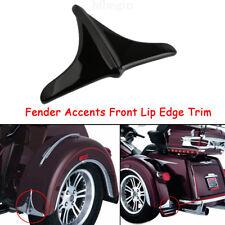 Rear Black Fender Accents Front Lip Edge Trim For Harley 09-16 Trike Tri-Glide