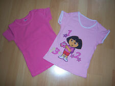 Lot 2 tee-shirts roses fille 3-4 ANS