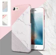 Pour iPhone 6 / 6s / 7 / plus Coque en silicone en Motif Marbre