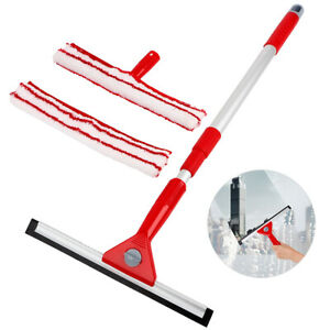 Cleaning Mop Retractable Telescopic Glass Window Tool with Long Handle Tool Sets