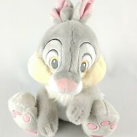Disney Store Authentic THUMPER Bunny Soft Plush Toy Stuffed Animal Sitting 14 In