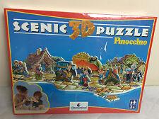 Clementoni Disney PINOCCHIO Scenic 3 D Puzzle Jigsaw 74 pc - New & Sealed- Rare