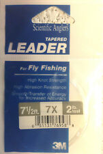 Scientific Anglers Freshwater Fly Fishing 7.5 ft. 2# 7x  Tapered leader