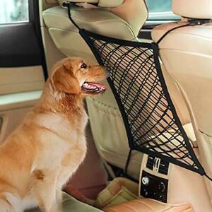 UNIVERSAL Mesh Net Backseat For Dog Pet Kids Barrier Fit Most Suv Jeep UTV CAR