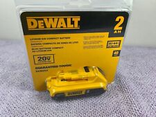 Genuine Dewalt 20V Dcb203 2.0 Ah Max Battery 20 Volt For Drill Saw New